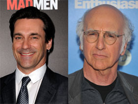 Larry David And Jon Hamm Team Up!