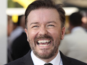 Ricky Gervais Rushed To Hospital