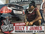 Billy T James | 31 August @ 8:30pm