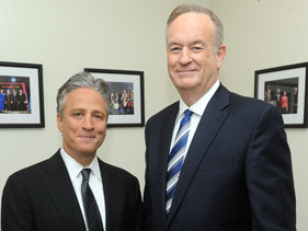 Jon Stewart And Bill O'Reilly Rumble!